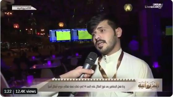 بالفيديو..ردة فعل الجماهير بعد الفوز على السد