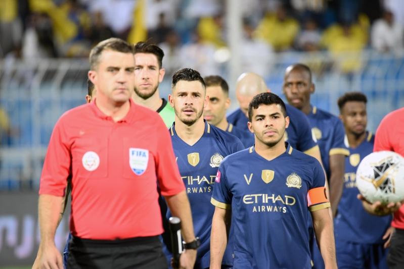 النصر يحقق أهدافا أخرى بعد الفوز أمام الفيصلي بهدفين