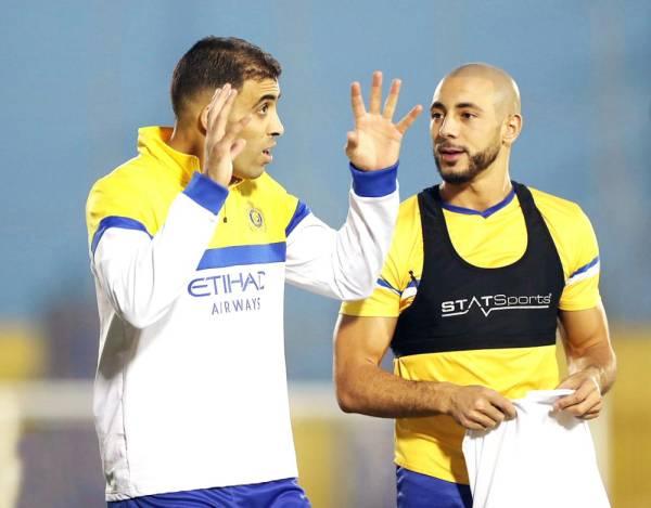 """""""ديما آسفي"""".. حمدالله يدعم أولمبيك آسفي ضد الاتحاد.. ويعتذر لهذا السبب!"""