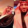 """بالفيديو.. سامي الجابر يمازح لاعب الهلال السابق """"ياسر القحطاني""""!"""