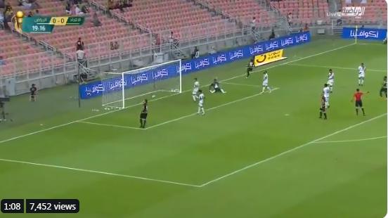 بالفيديو..رومارينيو يسجل الهدف الأول للاتحاد في مرمى الرياض