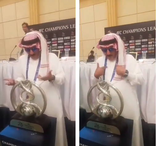 بالفيديو..الفريان يكلم كأس آسيا ويعاتبه: أنت ماتخاف الله!