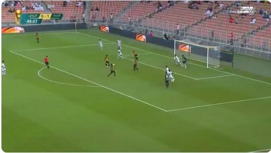 بالفيديو..رومارينيو يضيف الهدف الثاني للاتحاد في مرمى الرياض