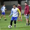 سالم العثمان ينشر صورة لحمد الله من التدريبات ويعلق: حمد الله وقع مع فريق قطري وجاء زيارة للنصر !