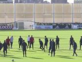 بالفيديو.. ردة فعل رونالدو بعد خطأه في التدريبات