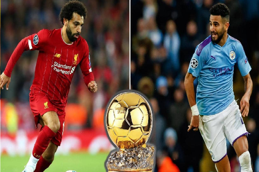 صلاح ومحرز.. ما ترتيب ممثليْ العرب بسباق الكرة الذهبية؟