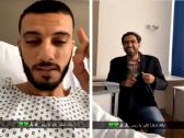 """بالفيديو.. رئيس الأهلي يفاجئ """"عمر السومة"""""""