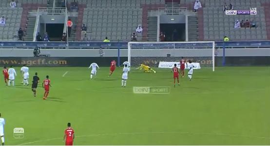 بالفيديو..المنتخب العُماني يسجل الهدف الأول في شباك الأخضر