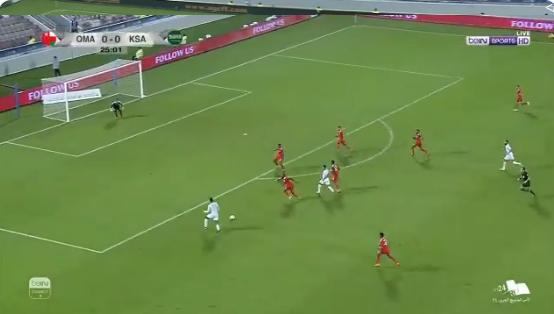 """بالفيديو..الأخضر يكتسح عمان بثلاثية .. ويتأهل إلى نصف نهائي """"خليجي 24"""""""