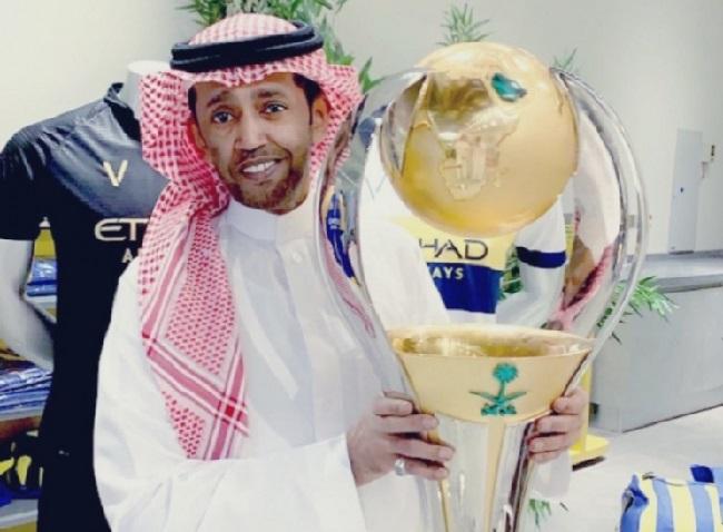 """""""الحقيقة المُغيبة"""".. بغلف يكشف متى اطلق على النصر الزعيم والعالمي وكبير الرياض.. ويستشهد بالسماري !"""