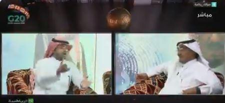 شاهد.. عايد الرشيدي : تركي الغامدي هو من يدافع عن الهلال.. ورد غير متوقع من الغامدي!