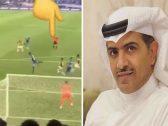 """""""الحكم معذور الرؤية غير واضحة"""" .. """"الهريفي"""" يسخر من حكم مباراة الاتحاد والهلال بـ""""فيديو"""""""