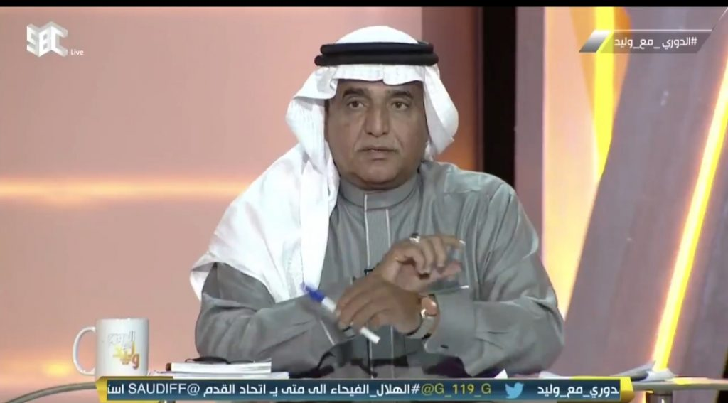 """""""للأسف الشديد"""".. شاهد.. محمد فودة: الهلال لم تحتسب له ركلتي جزاء أمام الفيحاء!"""