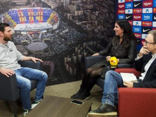 ميسي يحسم الجدل بشأن رحيله عن برشلونة