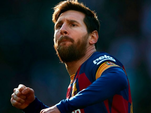 """بالفيديو..""""سوبر هاتريك"""" ميسي يقود برشلونة لاكتساح إيبار في الدوري الإسباني"""