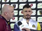 بالفيديو..جوليانو يكشف سبب صعوبة الفوز على الحزم ووعده لجماهير النصر