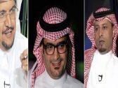 """نقاش بين """"جستنيه"""" و""""البكيري"""" بسبب مباراة الاتحاد والحزم.. وسامي القرشي يدخل على الخط!"""