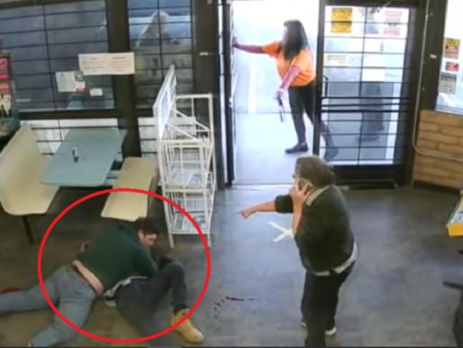 مصارع شاب ينقذ 3 أطفال من محاولة اختطاف (فيديو)