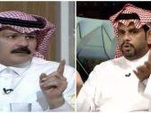 """شاهد.. رد غير متوقع من """"الطريقي"""" على """"عبدالكريم الحمد"""" بعدم حديثه الأخير عن شعبية النصر !"""