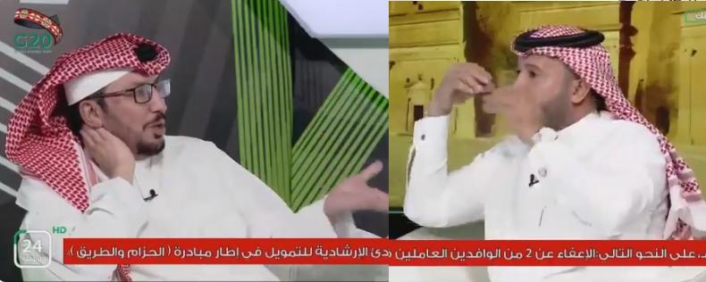 بالفيديو..فلاح القحطاني لـ فهد الروقي : أنت لديك مشكلة مع النصر ..والأخير يرد
