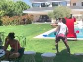 شاهد.. مارسيلو يستعرض براعته في ترويض الكرة