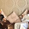 """""""ماجد عبدالله"""" يزور الزيلعي عقب إصابته بمرض مجهول"""